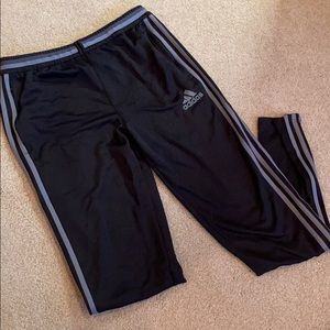 NWOT Black and Gray Adidas Joggers